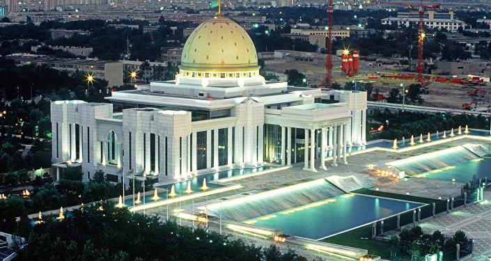 Дворец президента Туркмении