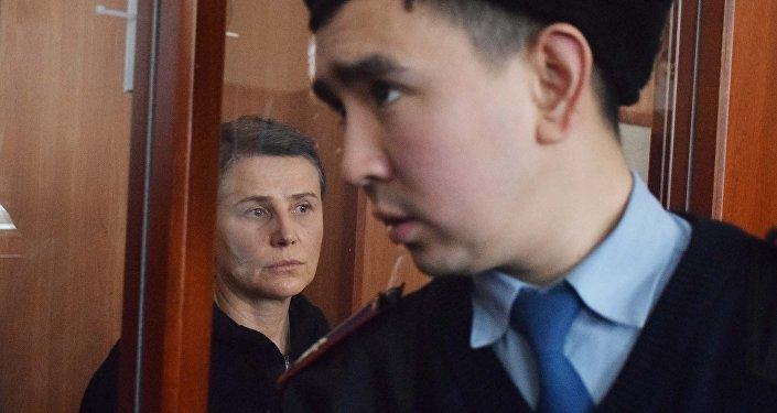 Лилия Рах в суде