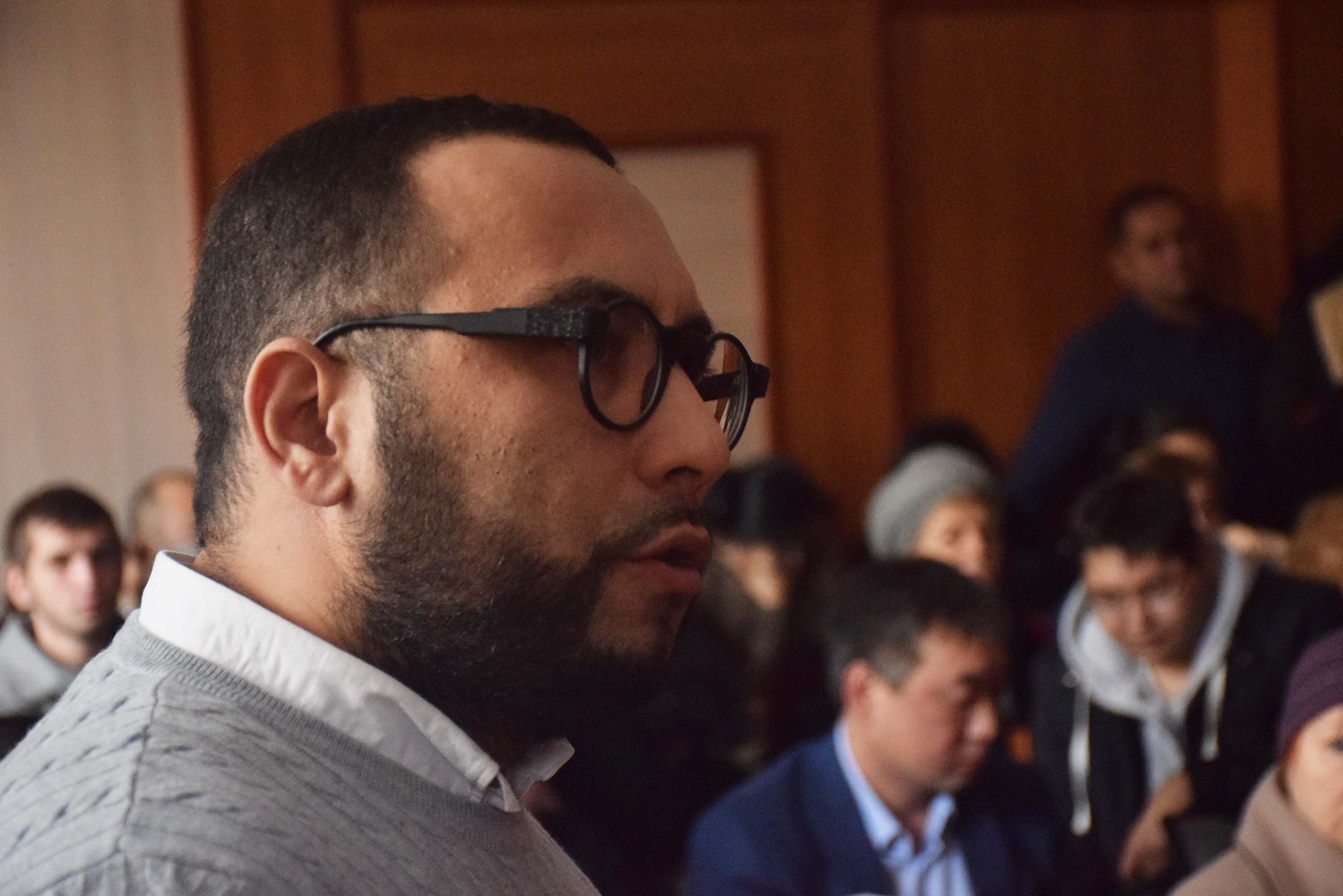 Хамро Суванов в суде по делу Лилии Рах