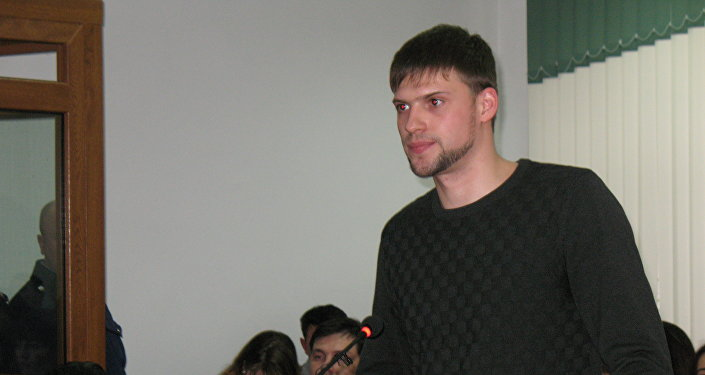 Друг Игоря Нанаева Александр Антропов