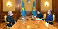 Қазақстан президенті Ресей елшісі Алексей Бородавкинді қабылдады