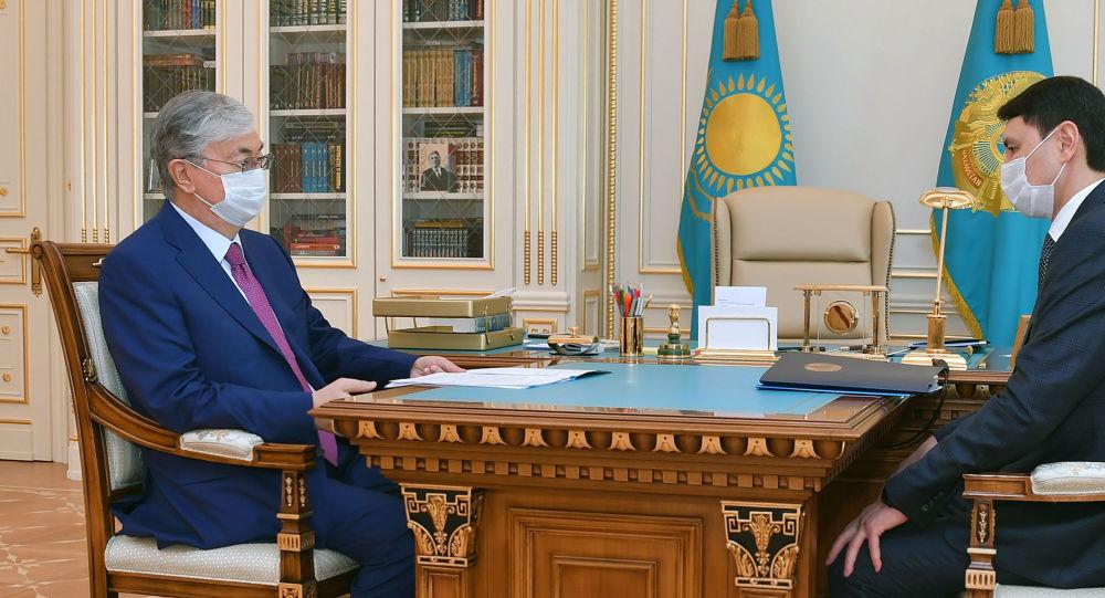 Қазақстан президенті жаңа қаржы министрі Жамаубаевты қабылдады