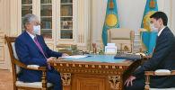 Токаев принял нового министра финансов Жамаубаева