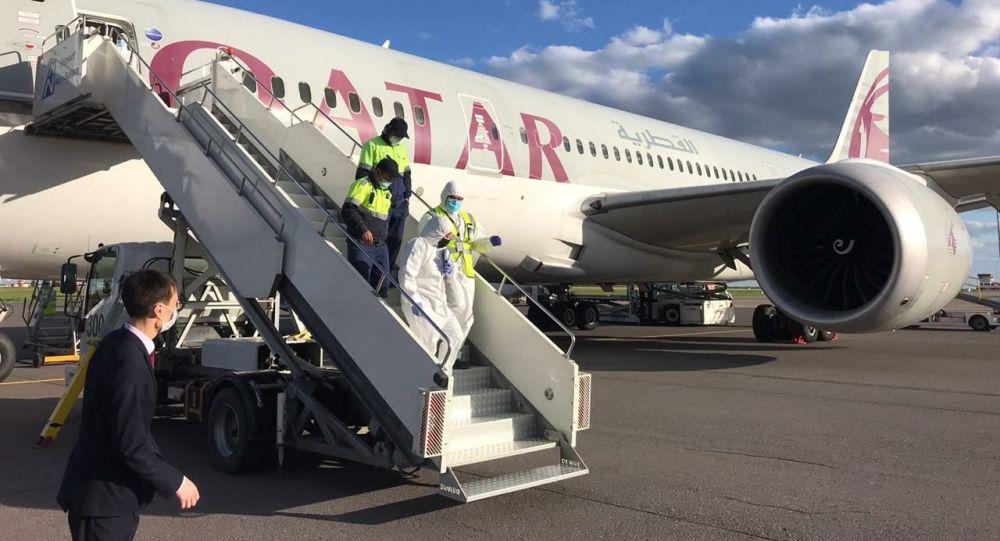 Қазақстанға Катар гуманитарлық көмек жіберді
