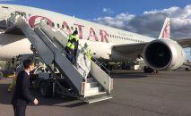 Катар доставил гуманитарный груз в Казахстан