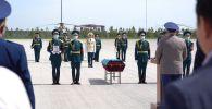 Останки погибшего под Смоленском казахского солдата передали родным