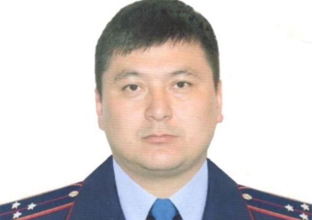 Старший лейтенант Жангазиев Жарас Султангазиевич
