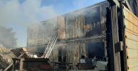 Мебельный цех сгорел на улице Мустая Карима