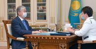 Токаев принял председателя Счетного комитета Наталью Годунову