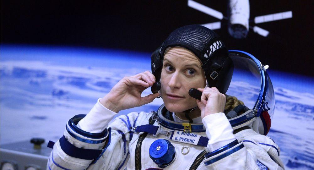 Астронавт НАСА Кэтлин Рубинс