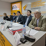 В мультимедийном пресс-центре Sputnik Казахстан состоялась пресс-конференция, посвященная ситуации вокруг предпринимателей БЦ 7 континент в Астане