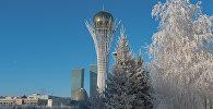 Астананың қысқы келбеті