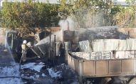 В тушении огня были задействованы 17 человек личного состава и 4 единиц пожарной техники столичного ДЧС