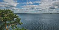 Вид на озеро Бурабай