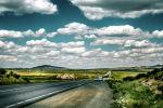 Панорама трассы Нур-Султан - Бурабай