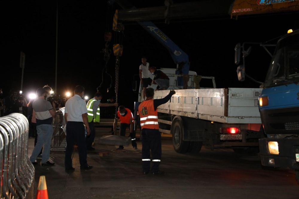 С 1 июня по периметру столицы демонтированы блокпосты