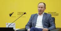 Представитель госкорпорации Роскосмос в Казахстане Анатолий Красников