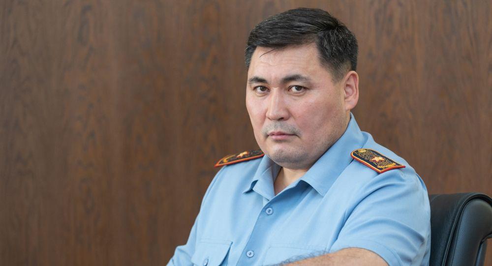 Алматы полиция департаментінің бастығы Қанат Таймерденов