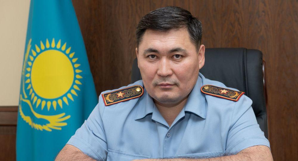 Начальник департамента полиции Алматы Канат Таймерденов