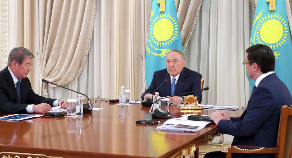 Нурсултан Назарбаев провел заседание Совета по управлению Фондом национального благосостояния Самрук-Қазына