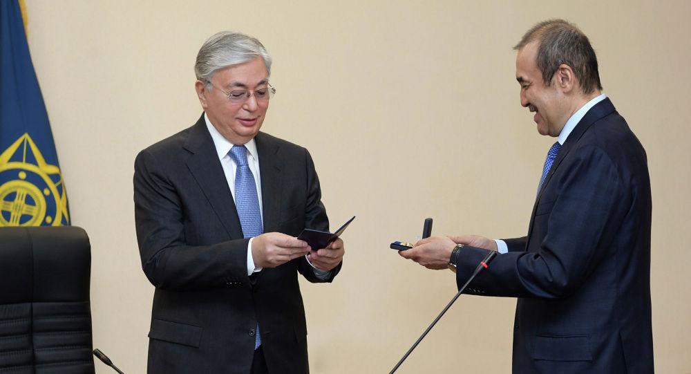 Президент Казахстана провел расширенное заседание коллегии Комитета национальной безопасности