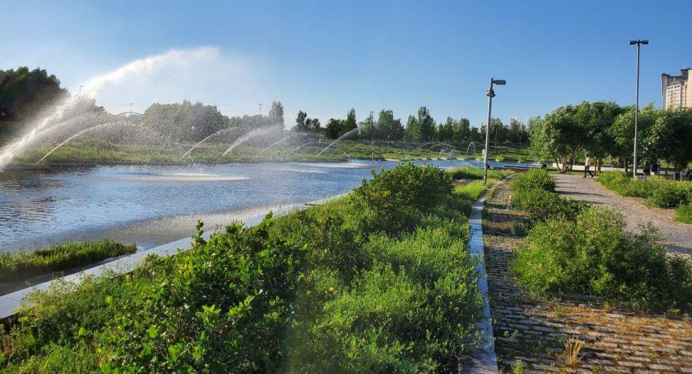 В Нур-Султане соединяют Президентский парк, Триатлон-парк и набережную