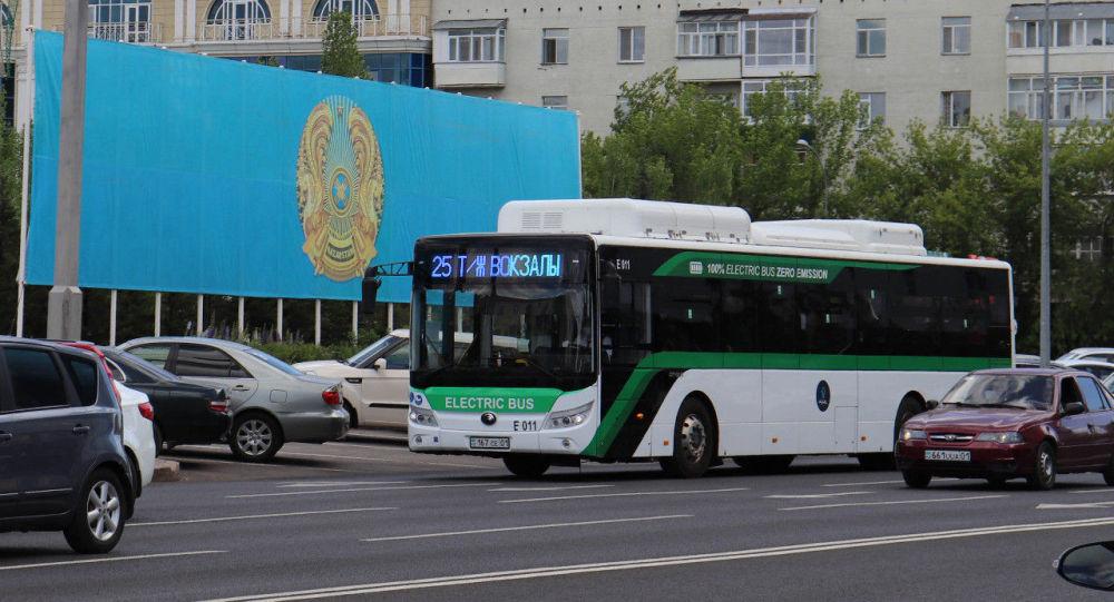 Электробус в Нур-Султане