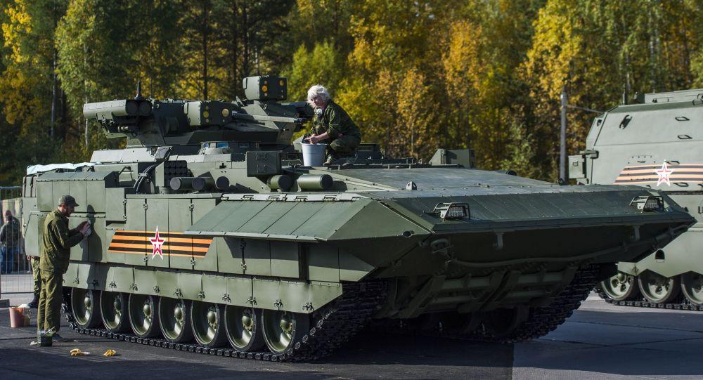 БМП Т-15 Армата, архивное фото
