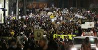 Массовые протесты в США
