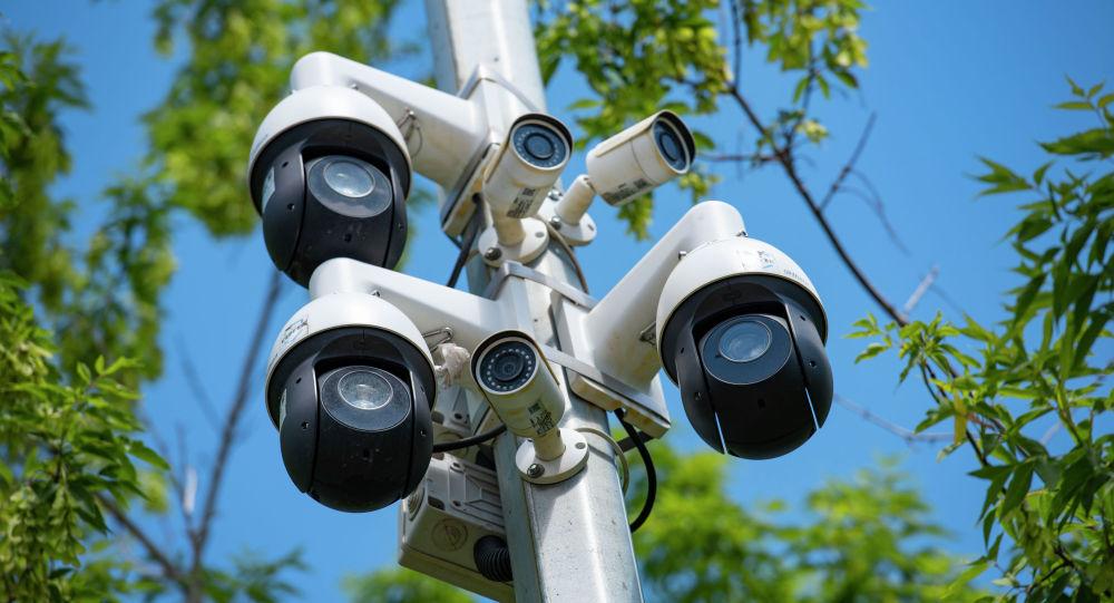 Видеокамеры на улицах столицы