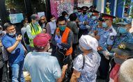 Несанкционированный митинг в Алматы