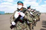 Казахстанские военнослужащие готовятся к участию в военном параде в Москве