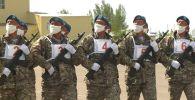 Как военнослужащие Казахстана готовятся к Параду Победы