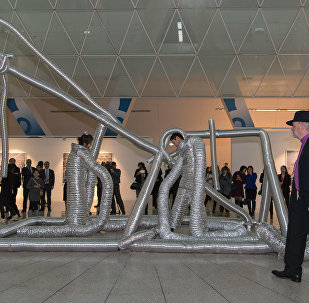 Выставка картин Жана Франсуа Розье Гипер Астана