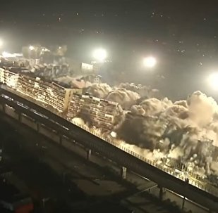 Взрыв разрушил 19 зданий в Китае