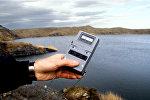 Атомное озеро под Семеем, архивное фото