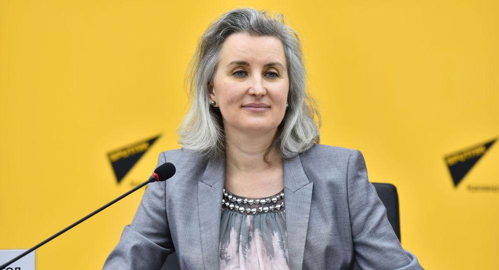 Заместитель главы офиса Программ ОБСЕ в Нур-Султане Диана Дигол