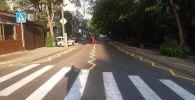Зигзагообразная разметка перед пешеходным переходом появилась в Нур-Султане
