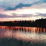Вечер в столице. Ботанический сад. Река Ишим.