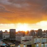 Закат в Нур-Султане