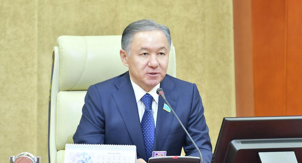 Председатель мажилиса парламента Нурлан Нигматулин