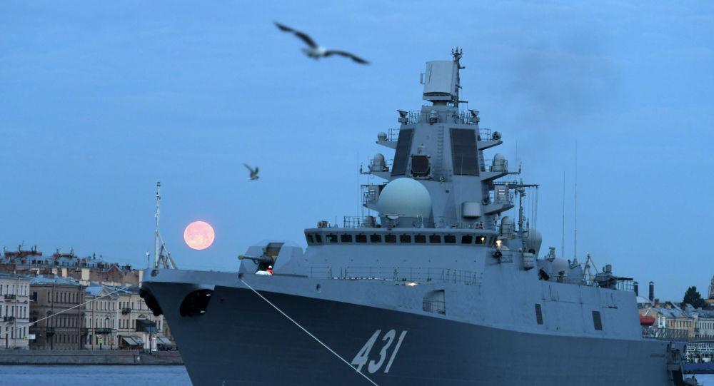 Адмирал флота Касатонов фрегаты