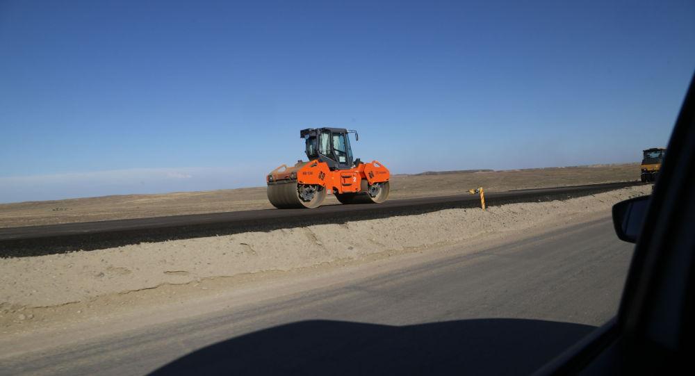 Строительства дорог в Карагандинской области