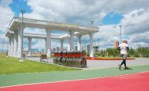Ограждения подготовили в парках Нур-Султана перед выходными с ужесточением карантина