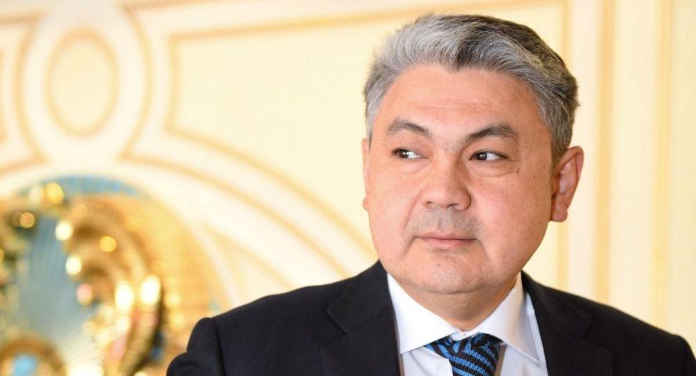 Чрезвычайный и Полномочный Посол республики Казахстан в РФ Ермек Кошербаев