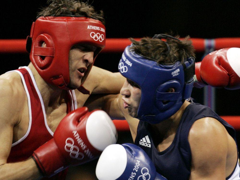 Геннадий Головкин на Олимпиаде в Афинах