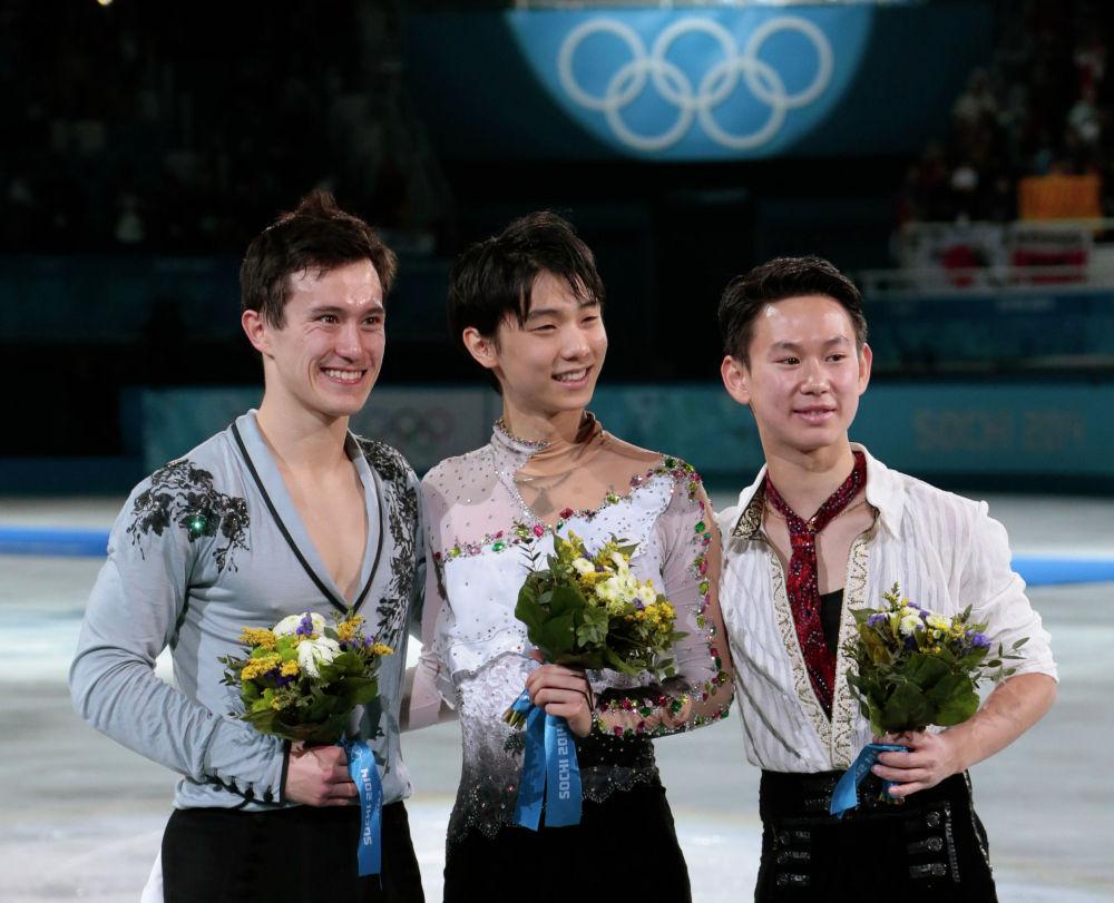 Денис Тен на Олимпиаде в Сочи