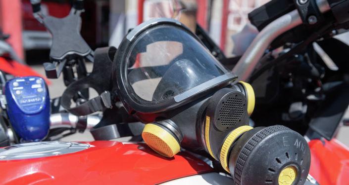 Газ бен түтіннен қорғайтын маска