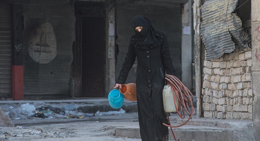 Сириялық қаладағы жағдай
