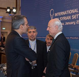 Спецпредставитель ООН по Сирии Стаффан де Мистура
